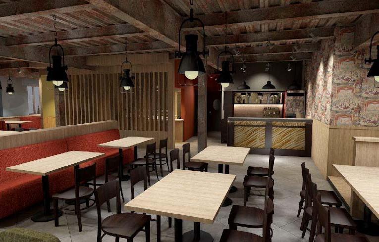 Онлайн Мебель: Дизайн интерьера кухни-студии